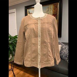 Women's Chico's Reversible Jacket, Size 3